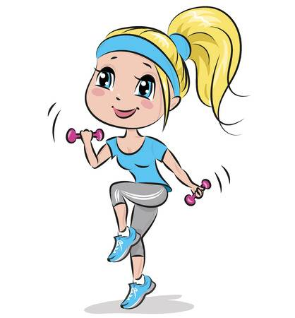 1,372 Step Aerobics Stock Illustrations, Cliparts And Royalty Free.