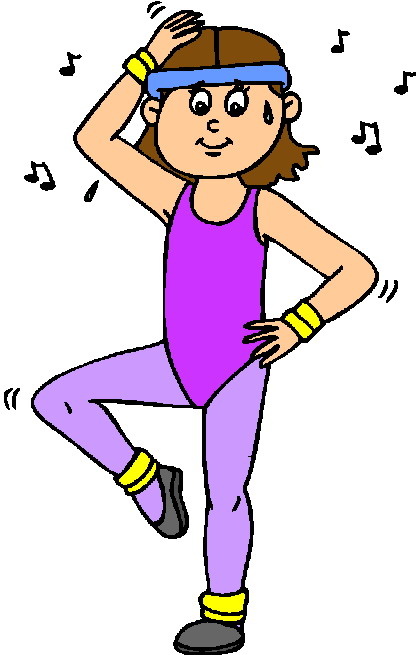 Aerobics Clipart.