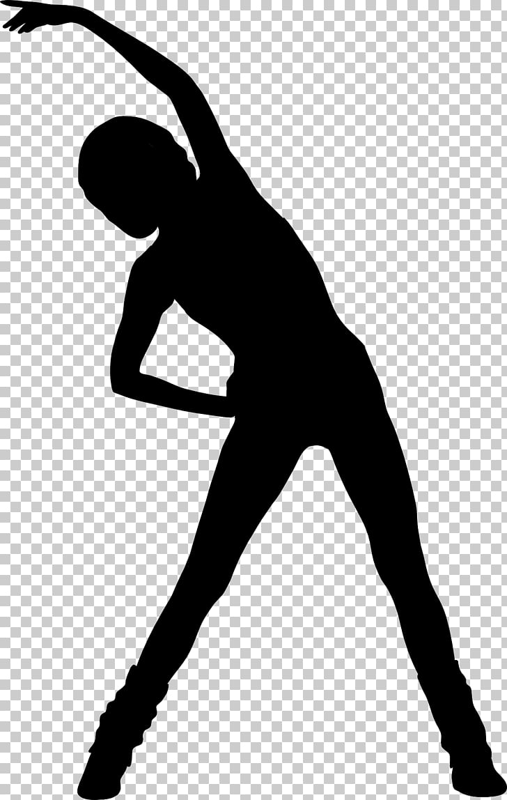 Physical exercise Fitness Centre Aerobics , Silhouette PNG.