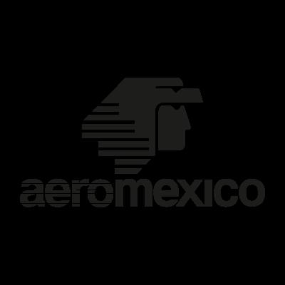 AeroMexico Black logo vector (.EPS, 381.40 Kb) download.