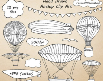 balloon bunting clip art.