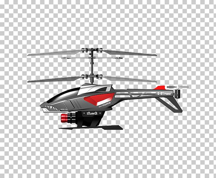 Helicóptero controlado por radio picoo z control de radio.
