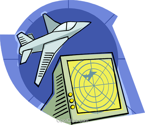 radar de seguimiento de aeronaves libres de derechos.
