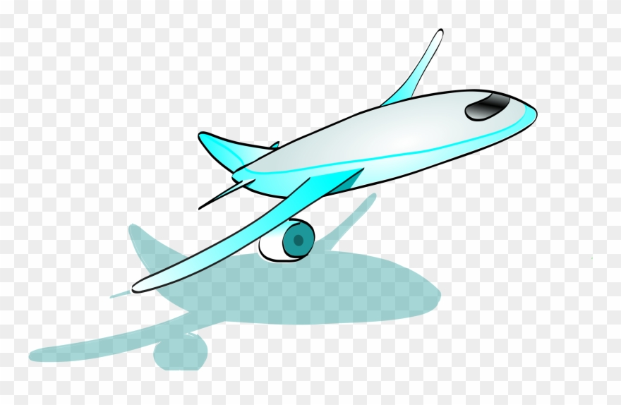 Clipart Airplane Cartoon Sprout.