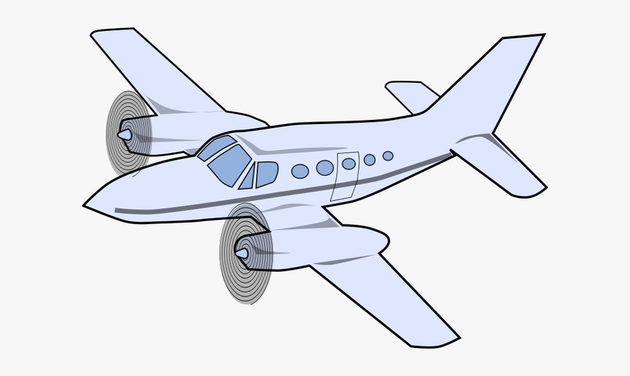 Airplane Clipart Animated.