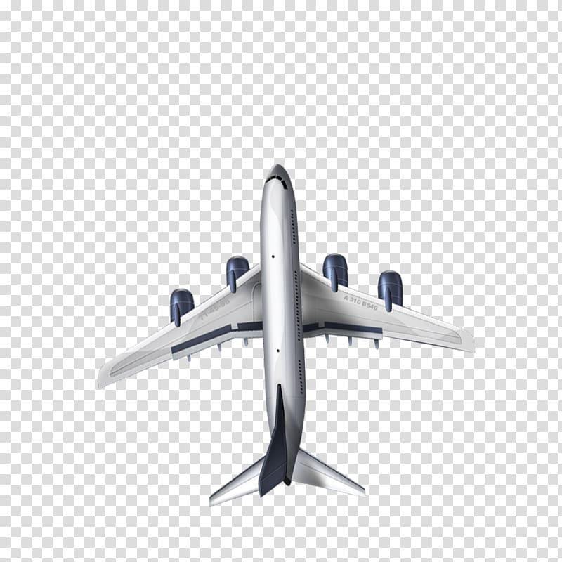 Airplane Flight Animation, aircraft transparent background.