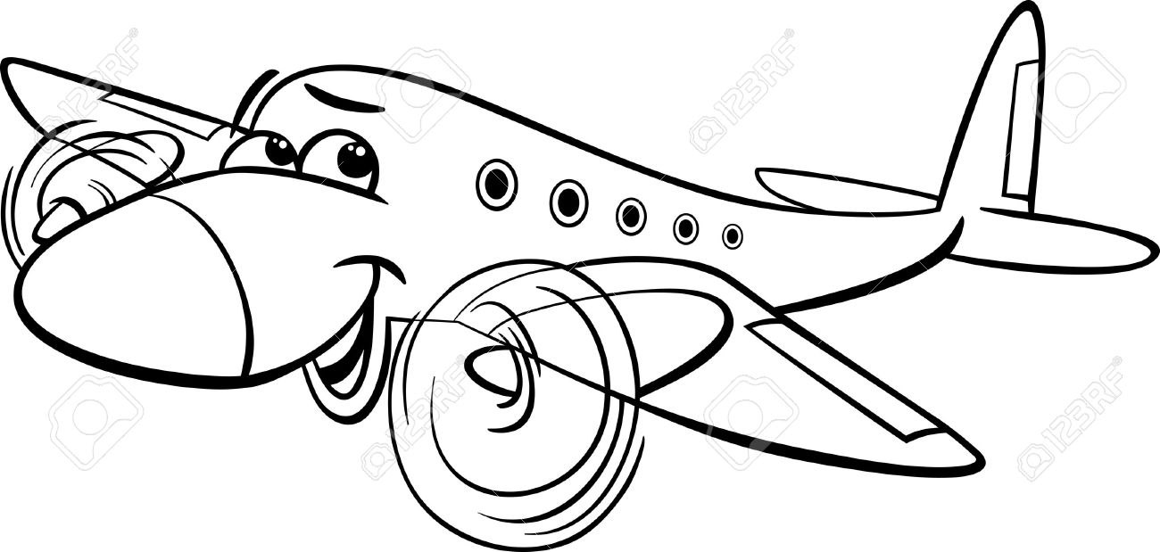 aeroplane clipart black and white 19 free Cliparts ...