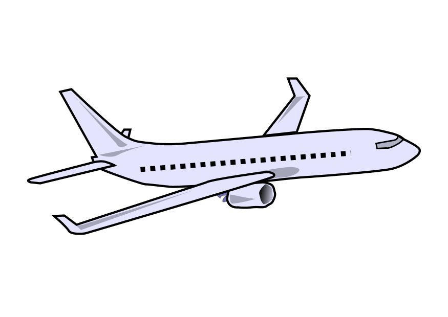 Airplane plane clipart kid 2.