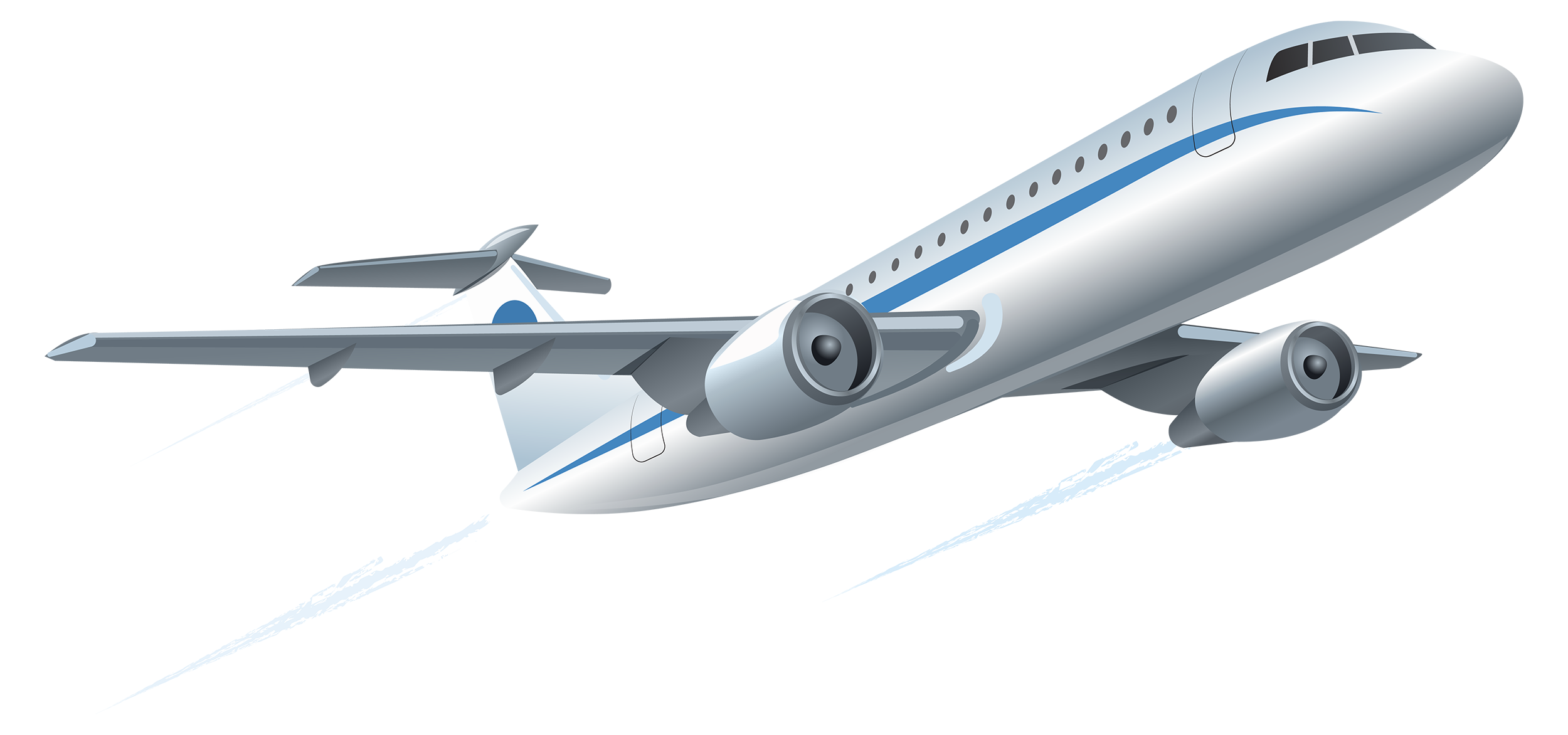 Airplane PNG Clipart.