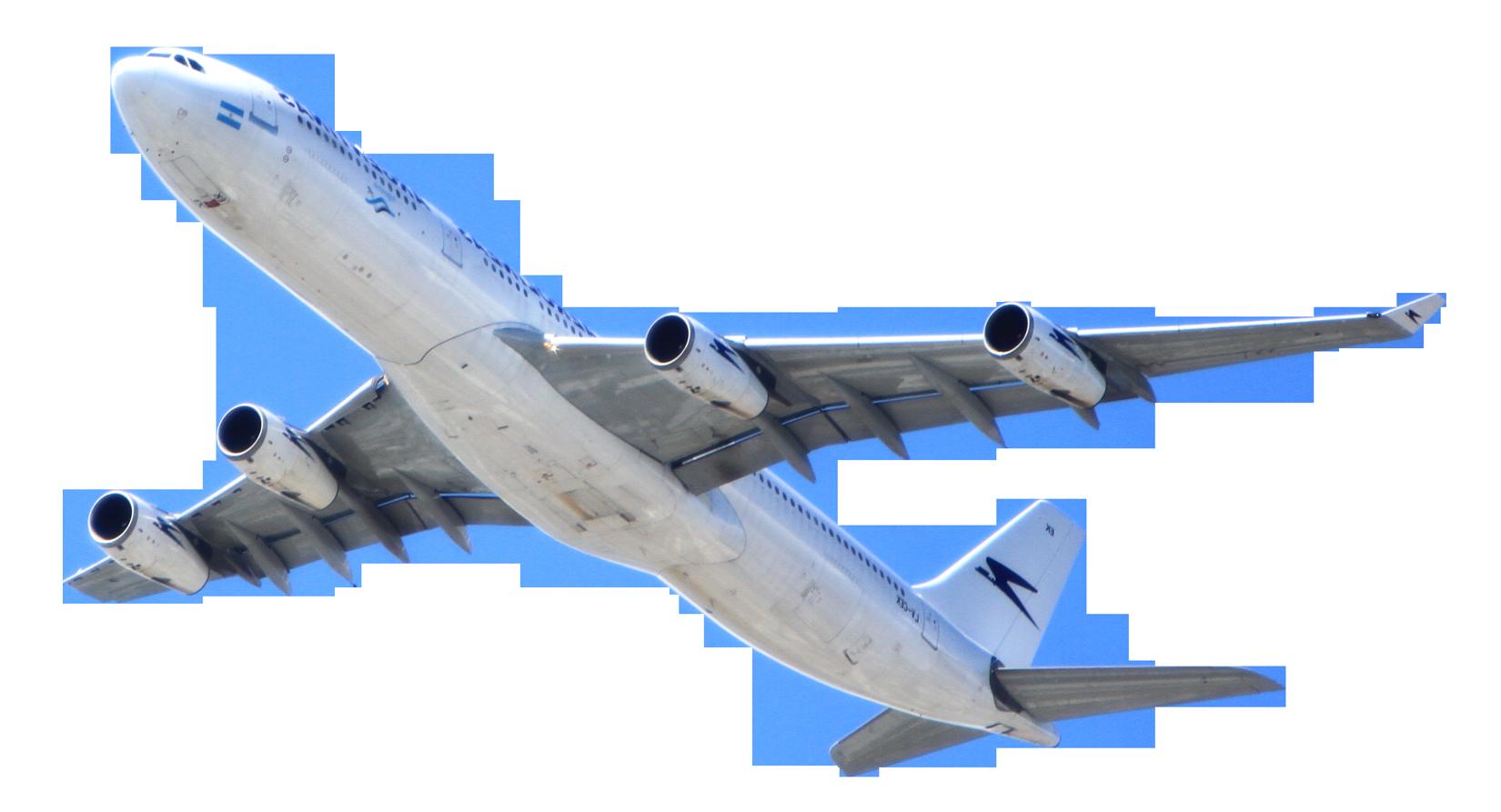 Passenger Airplane PNG Image.