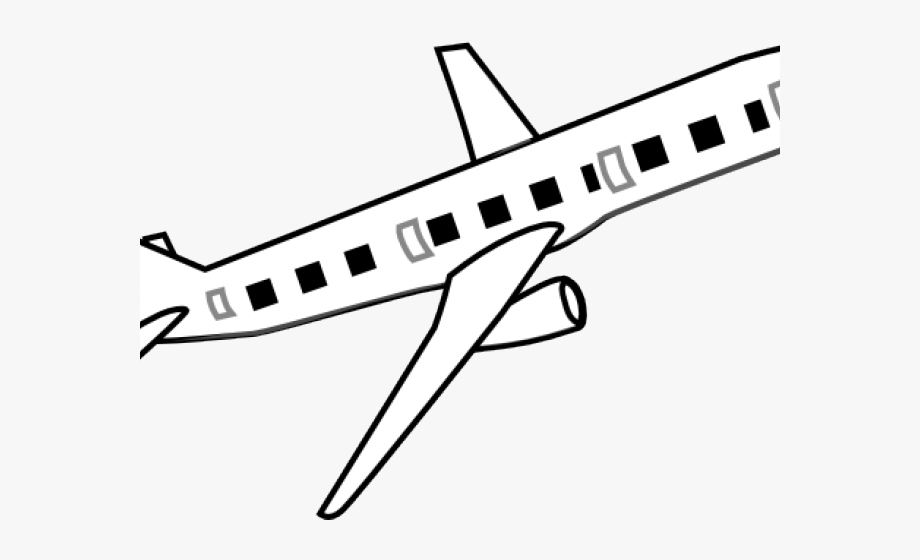 Aircraft Clipart Line.