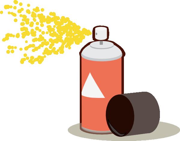 Spraying clipart #10