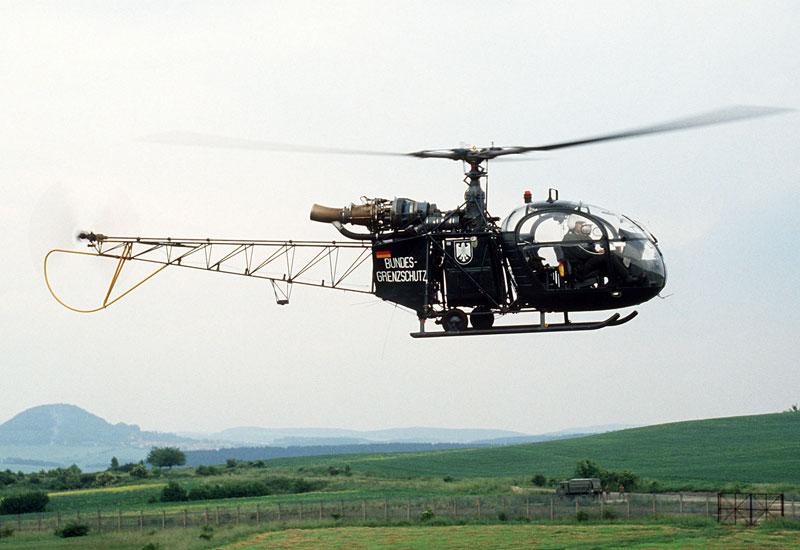 Aerospatiale Alouette II Light Utility Helicopter.
