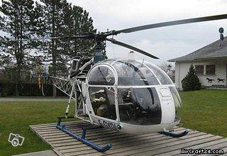 Aerospatiale ALOUETTE II aircraft for sale.