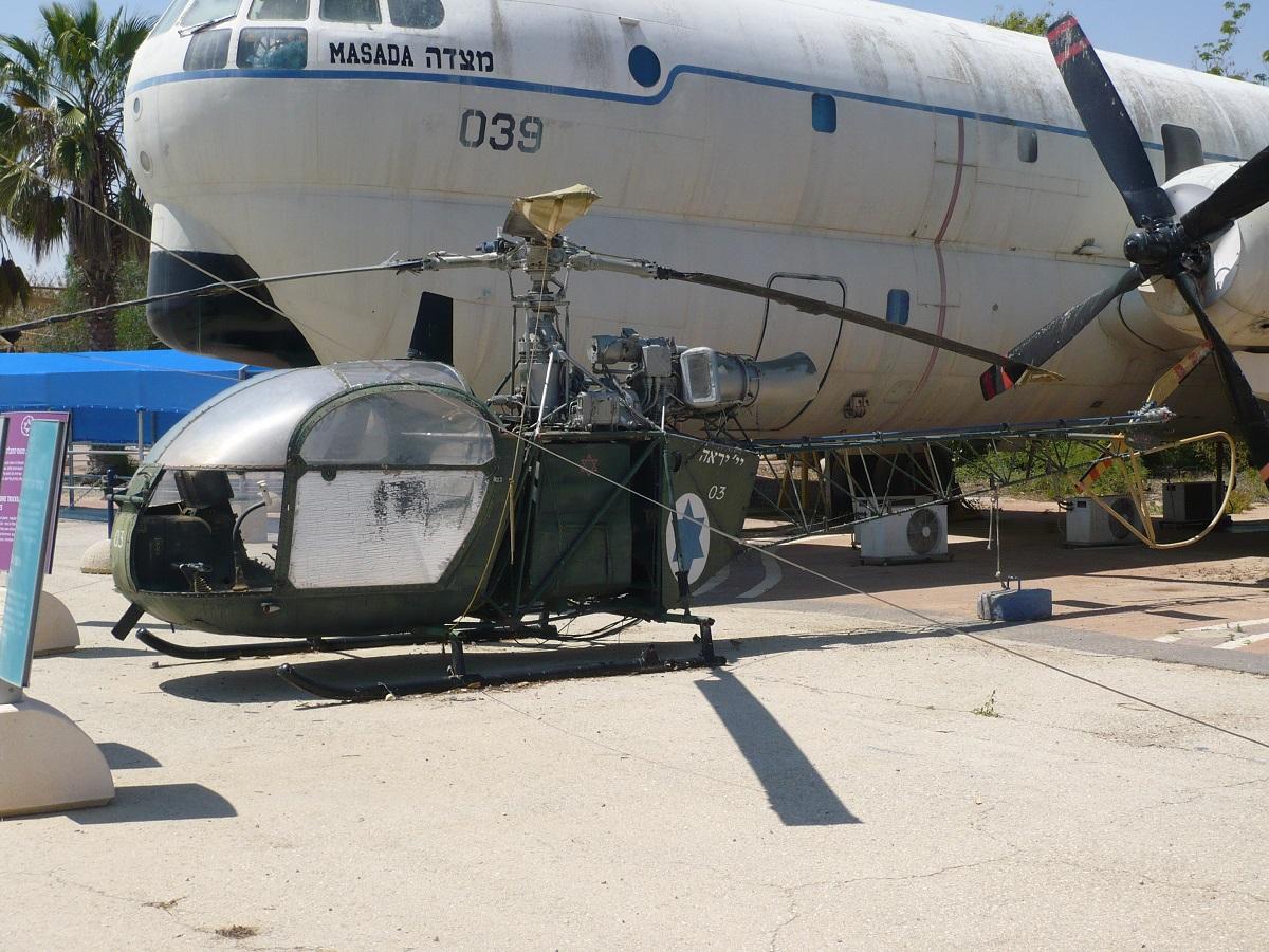 Aerospatiale Alouette II 03 Israel Defence Force.
