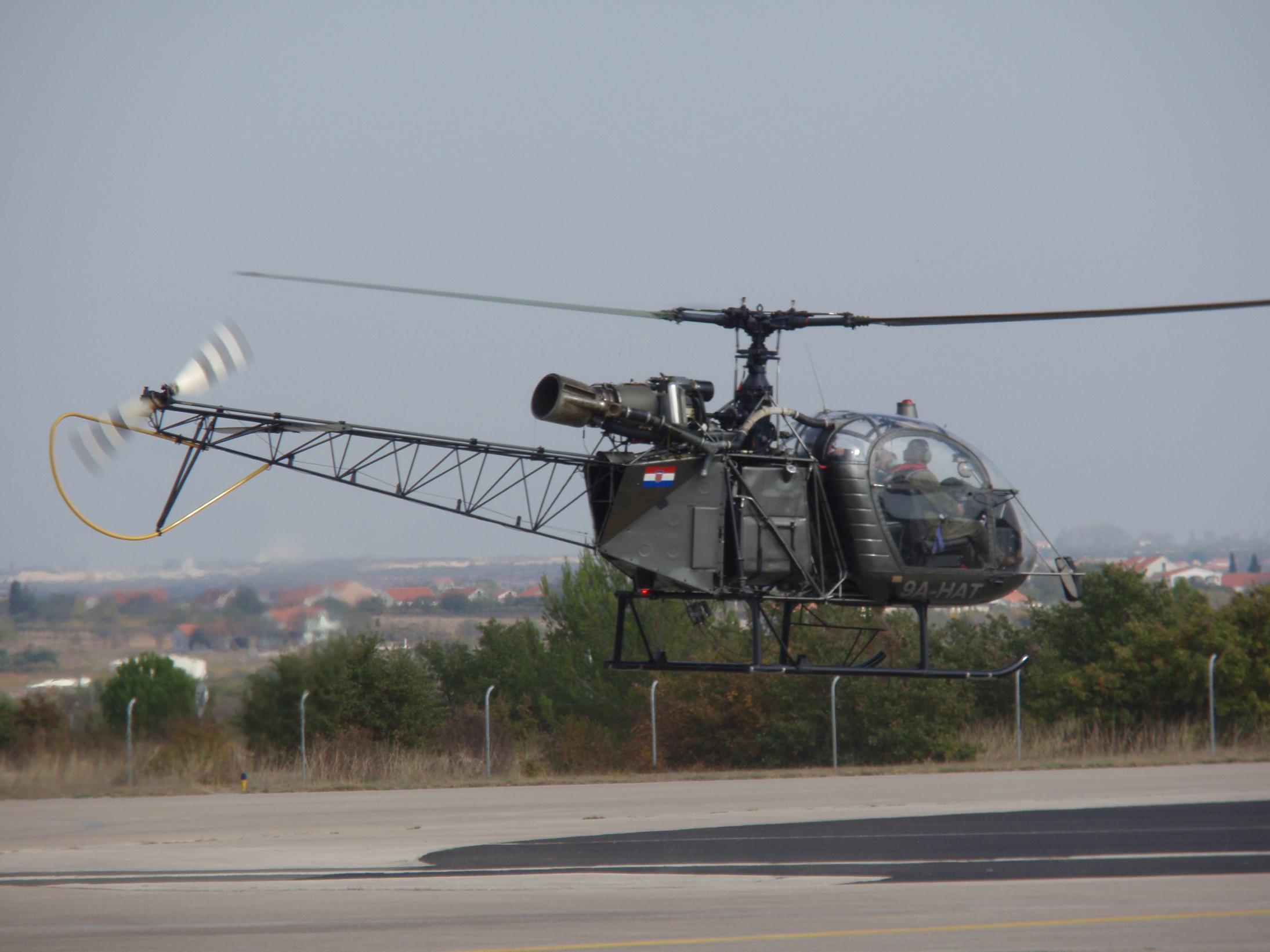 Aérospatiale Alouette II.