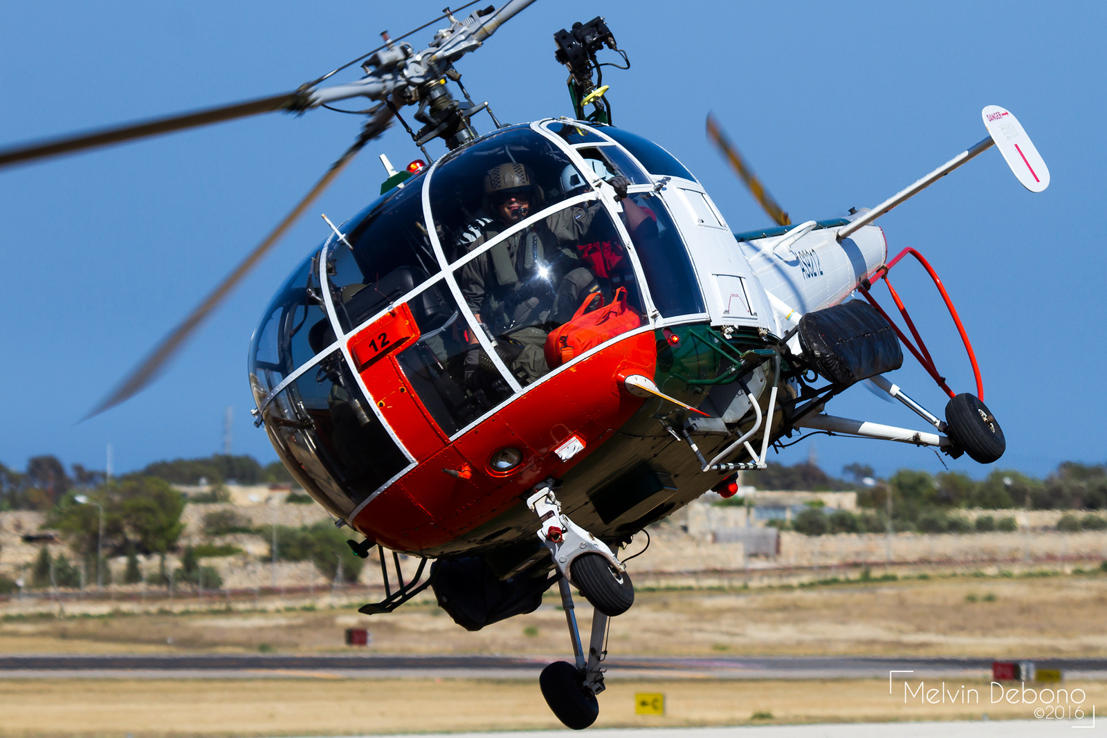 Armed Forces of Malta Aérospatiale SA 316B Alouette III 'AS9212.