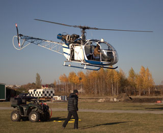Alouette II helicopter for sale.