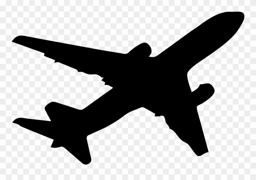 Aircraft silhouette clipart clipart images gallery for free.
