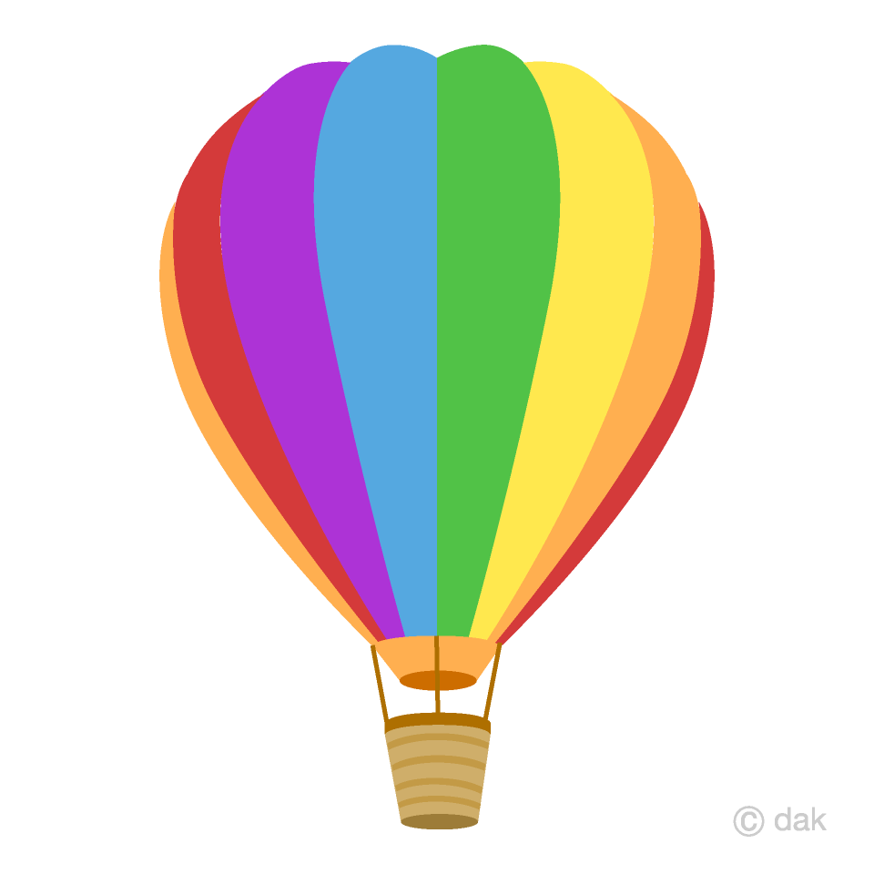 Hot Air Balloon Clipart images collection for free download.