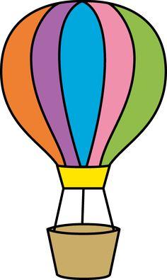 Hot Air Balloon Clipart Images.