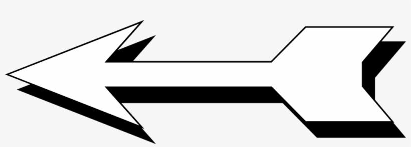 Arrow White Free Stock Photo Illustration Of A Left.