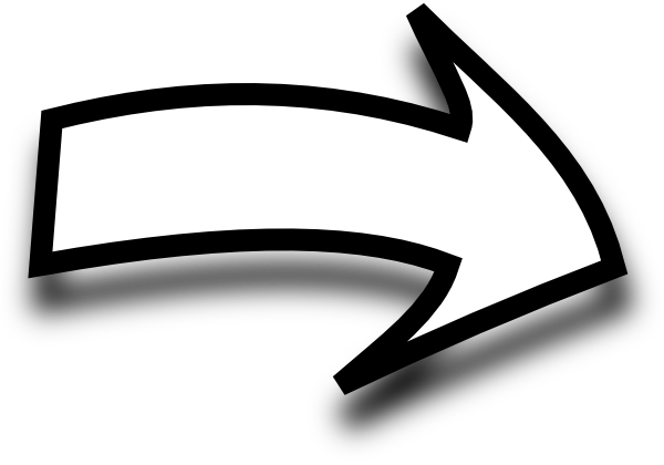 Black And White Arrow Clipart.