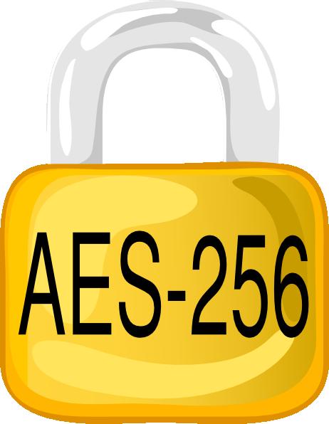 Lock Aes 256 Clip Art at Clker.com.