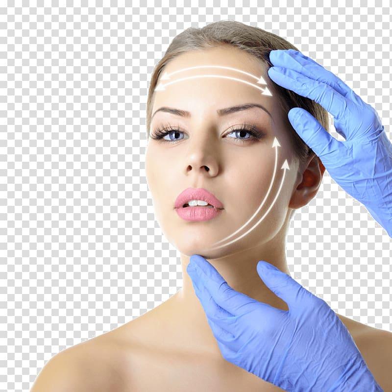 Woman\'s face, Aesthetic medicine Plastic surgery.