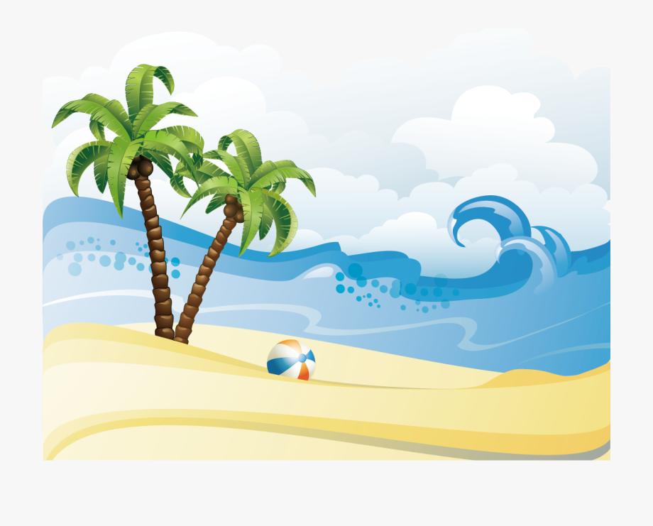 Summer Material Beach Poster Free Clipart Hd.
