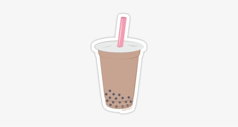 Boba Tea Png.