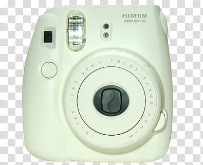 AESTHETIC GRUNGE, white Fujifilm Instax mini camera.