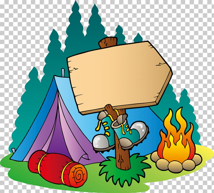 Camping Campsite , campsite PNG clipart.