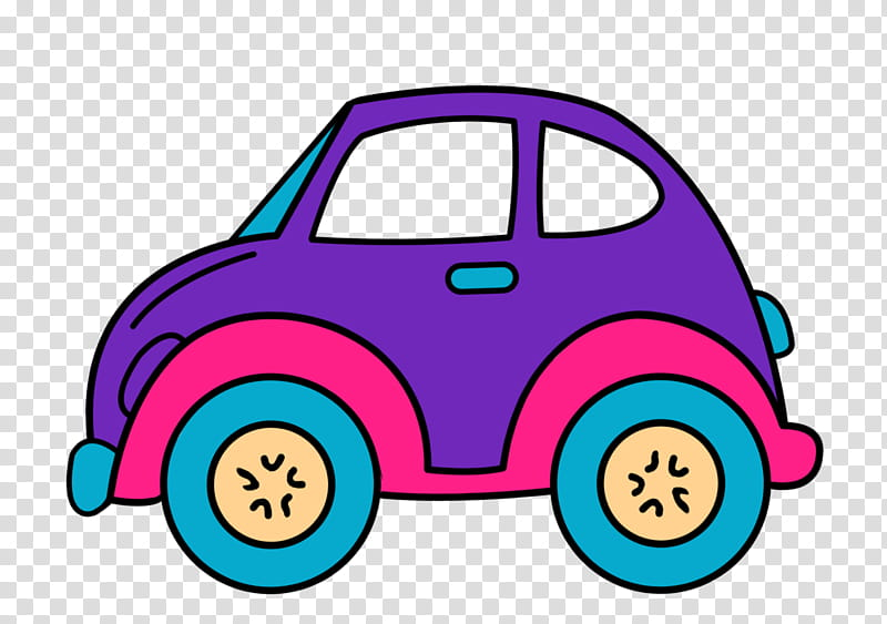 Retro Car s, purple and pink car transparent background PNG.