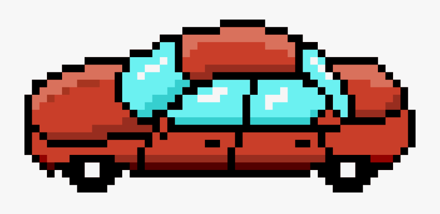 Pixel Clipart Red.
