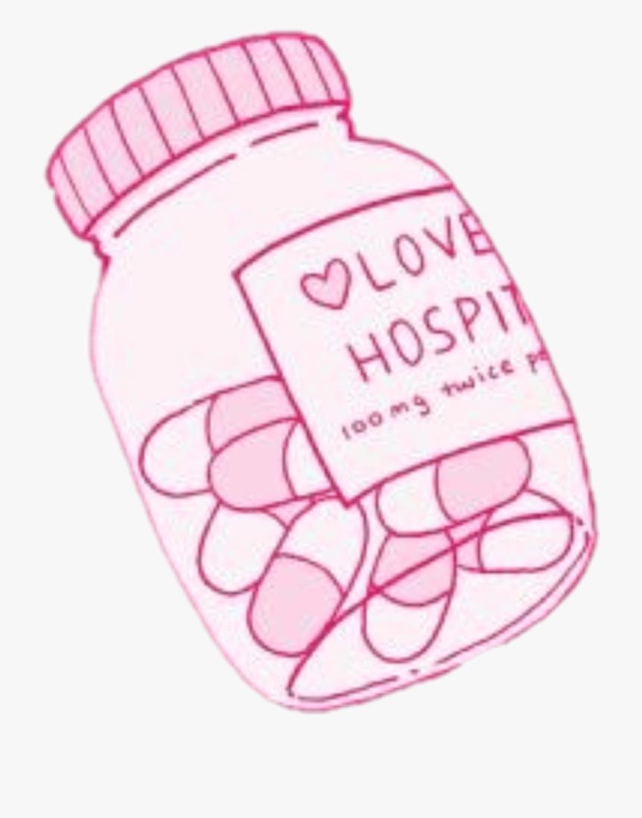 love #lovehospital #pills #pink #aesthetic #tumblr.