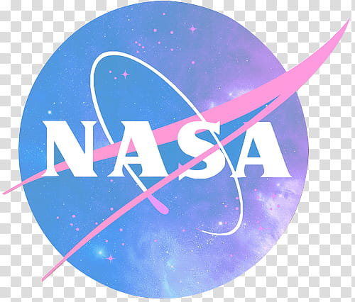 Aesthetic, NASA logo transparent background PNG clipart.