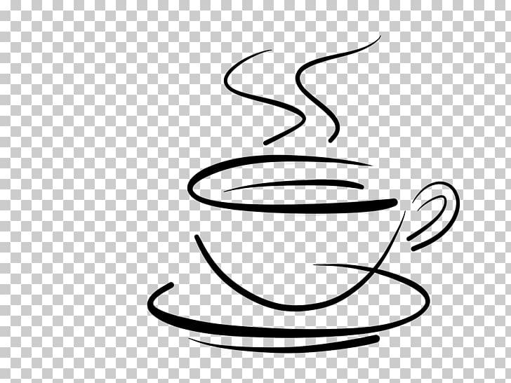 Coffee Tea Cafe Cafxe9 au lait, Coffee Logo Transparent.