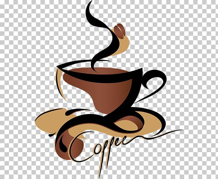 Coffee Tea Espresso Cafe , Transparent Coffee s, brown and.