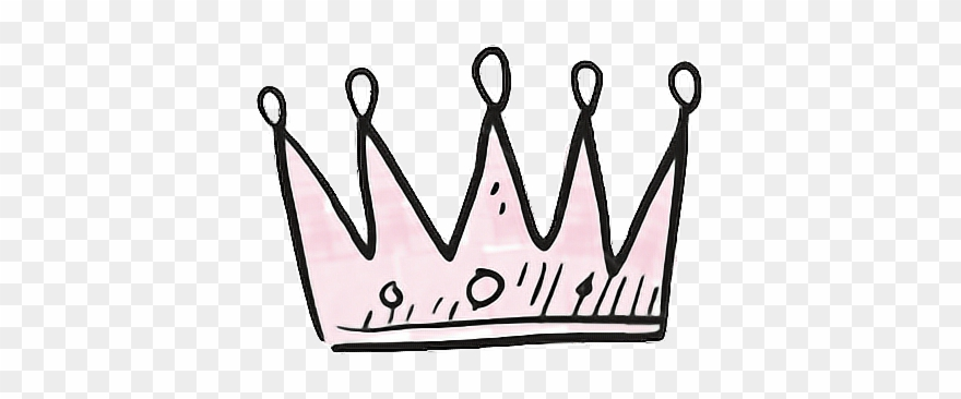sticker #crown #pink #pretty #aesthetic #tumblr #png.