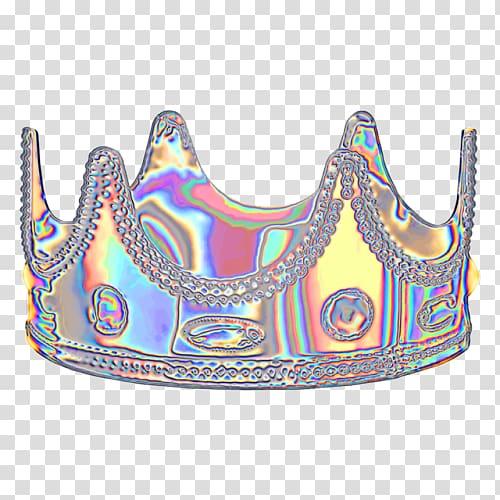 Holodaze Vaporwave Aesthetics Dinahmite, ladies crown.