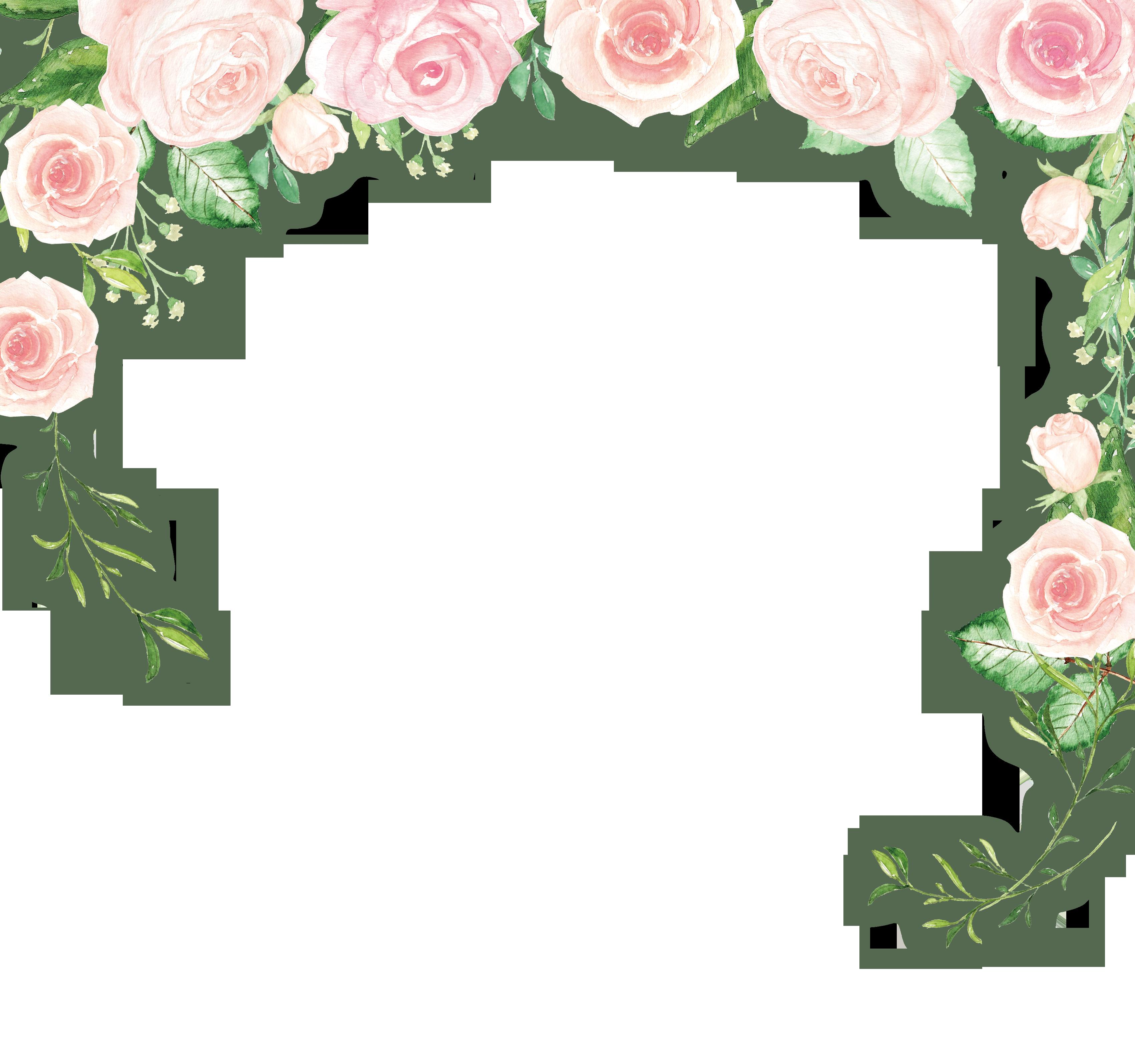 Border Flowers Clip art.