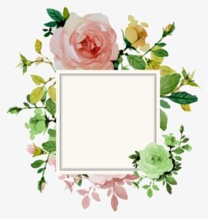 Flower Border PNG Images.