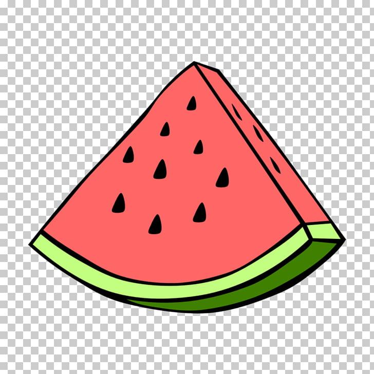 Watermelon Food Sticker, Aesthetic, watermelon illustration.