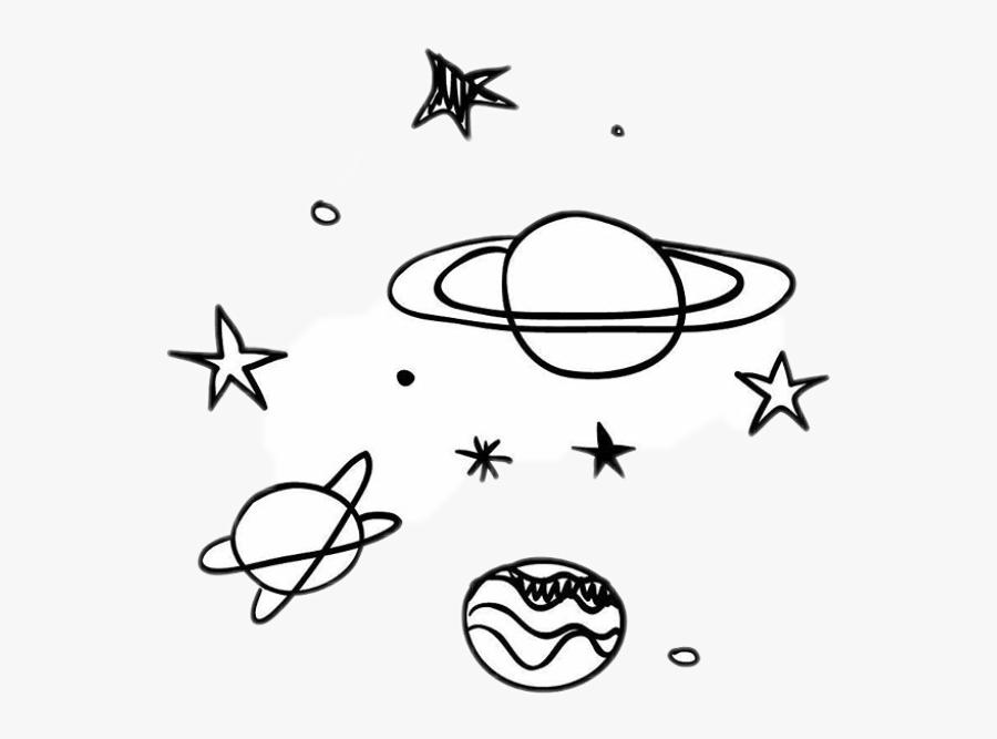 black #stars #white #sky #galaxy #planet #planets.