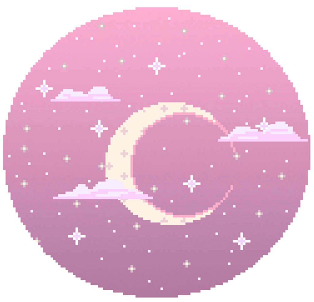 GIF Pixel art Moon Tenor.