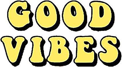Good Vibes Tumblr, Aesthetic, Yellow Sticker Decal Window Bumper Sticker  Vinyl 5\