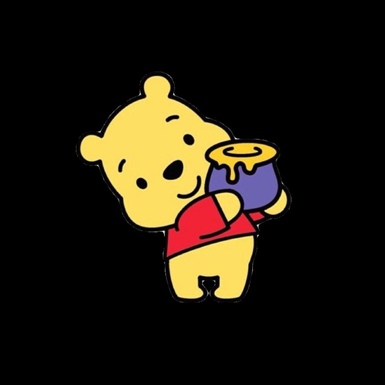 winniethepooh #winnie #the #pooh #cute #bear #yellow #honey.