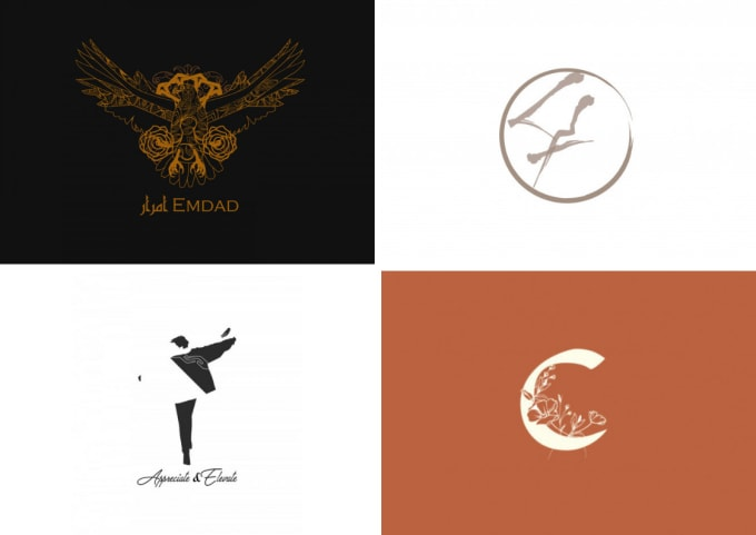 design a modern and aesthetic logo.