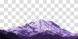 Aesthetic pink mega , mountain transparent background PNG.